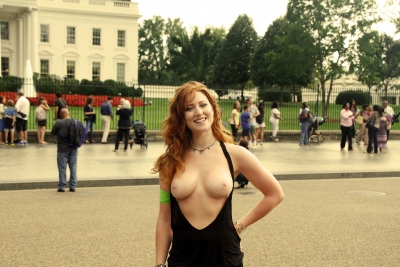 Go Topless Day in Washington DC with Rachel Jessie Redux